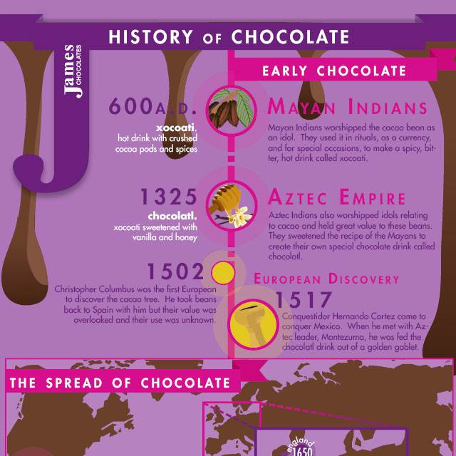 essay on the history of chocolate Below is an essay on history of chocolate from anti essays, your source for research papers, essays, and term paper examples when most of us hear the word chocolate, we picture a bar, a box of bonbons, or a bunny.